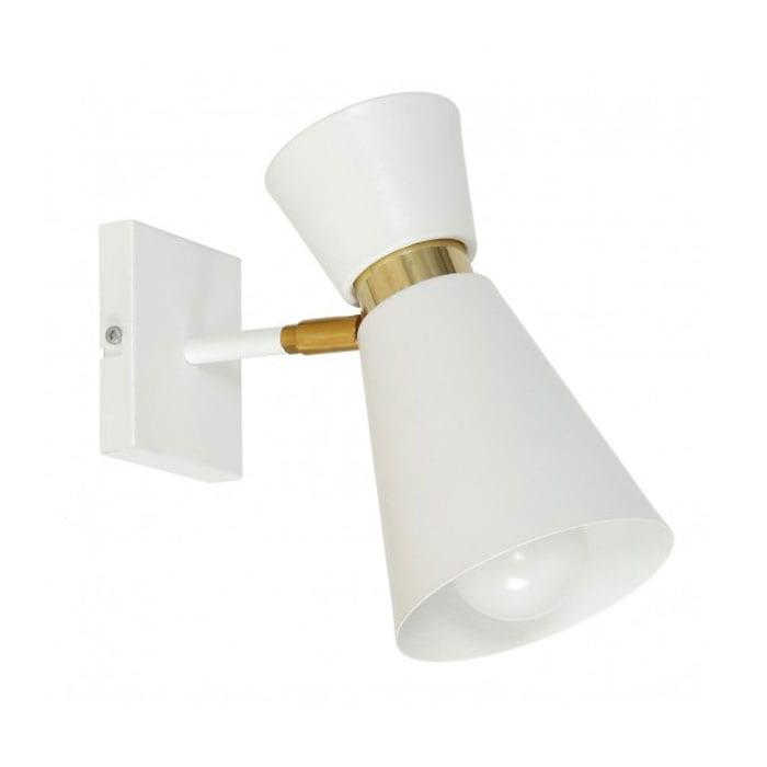 Sieninis šviestuvas Kedar White