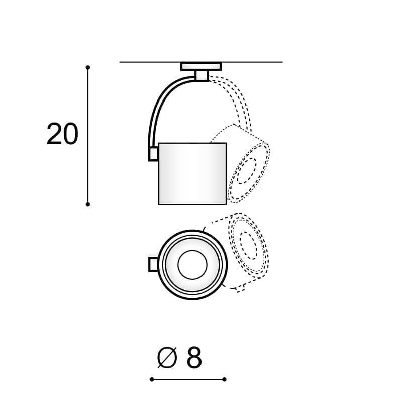 Akcentinis LED šviestuvas Costa BK 3F
