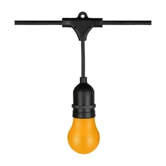 Lauko girlianda E27 lemputėms IP44