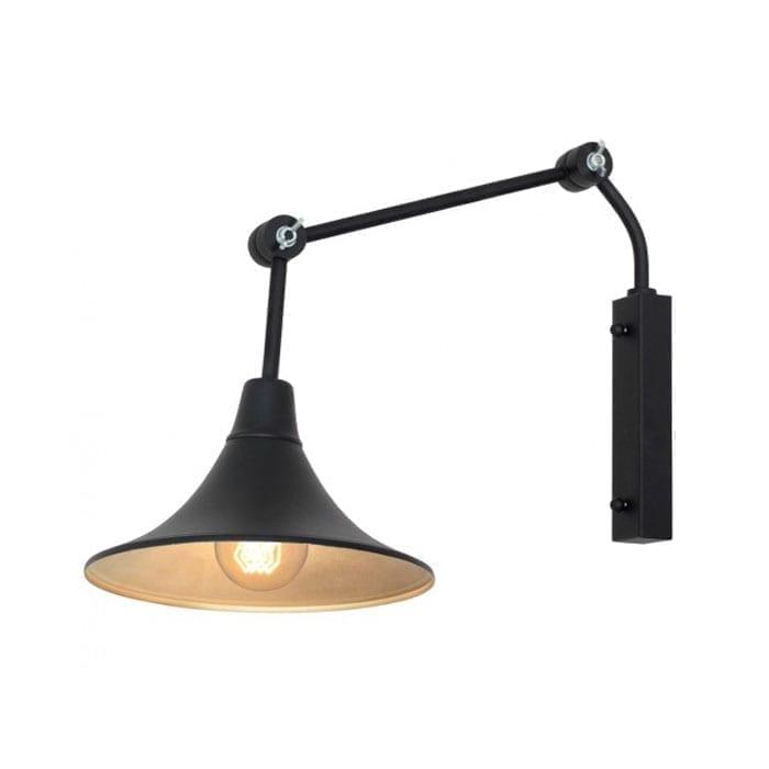 Sieninis šviestuvas Antika Black 771C1/1