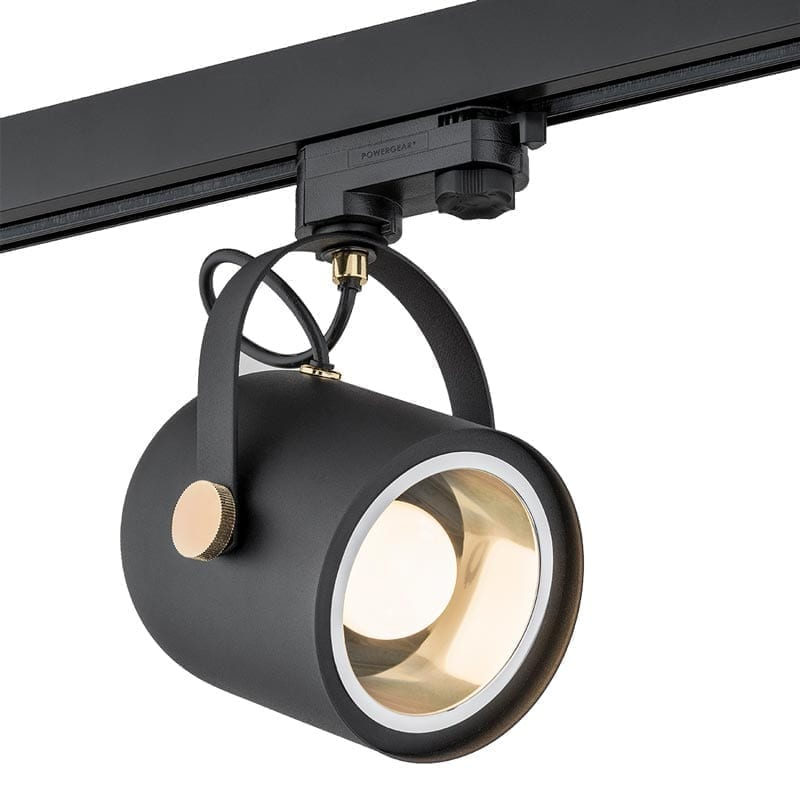 Akcentinis šviestuvas Net Black Brass 3F
