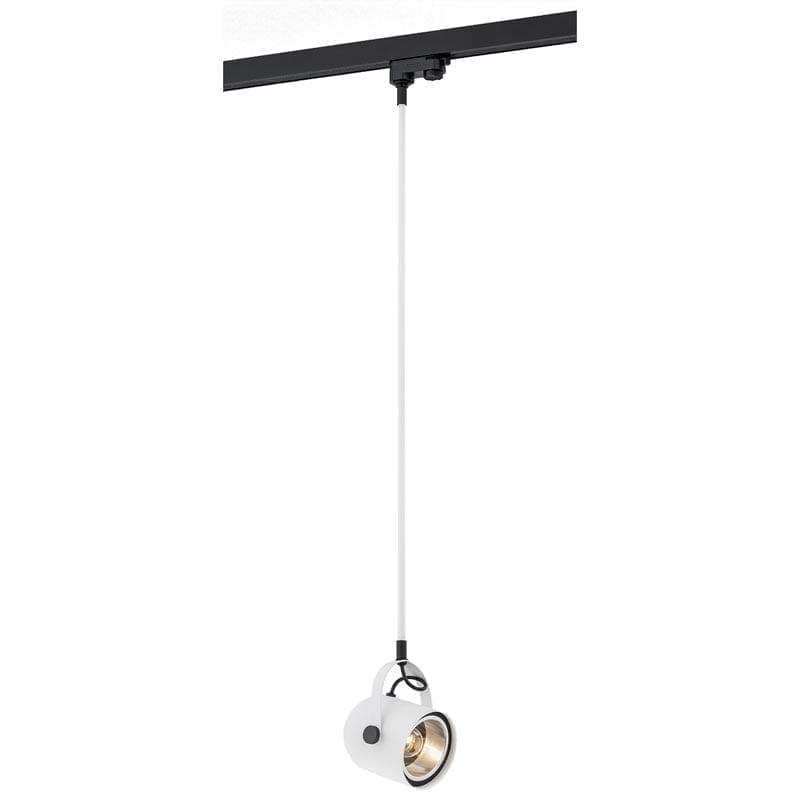 Track sistemos pakabinamas šviestuvas Net White