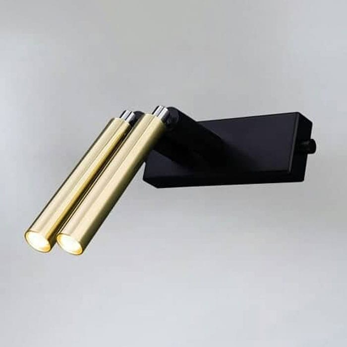 Sieninis šviestuvas E Brass 9335