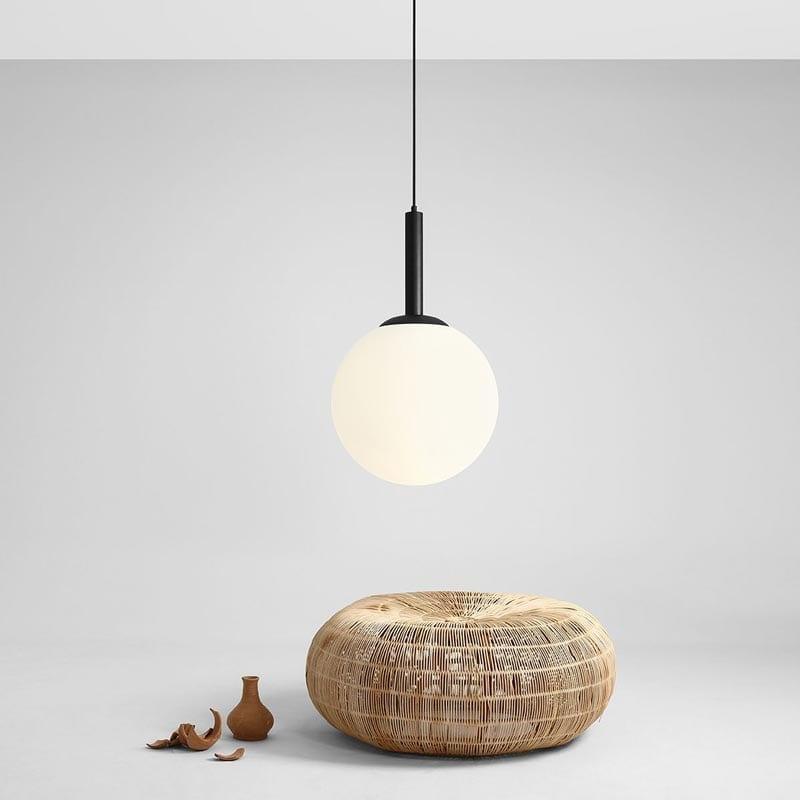 Pakabinamas šviestuvas Balia Black ⌀40