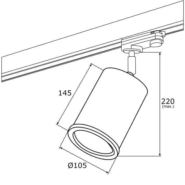 Akcentinis šviestuvas Delf 4303