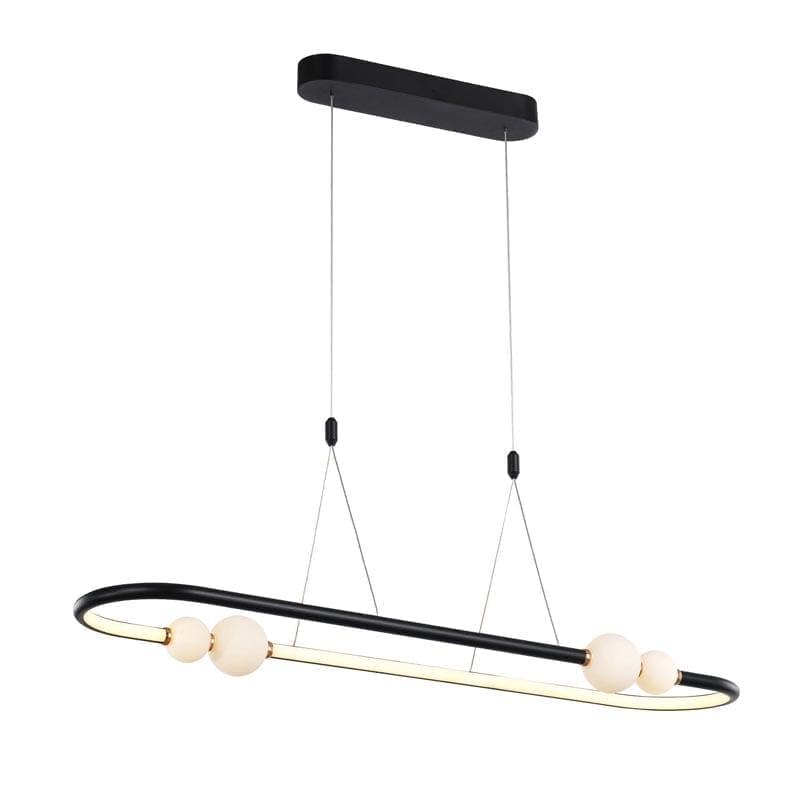 Pakabinamas LED šviestuvas Lozanna 1C Black