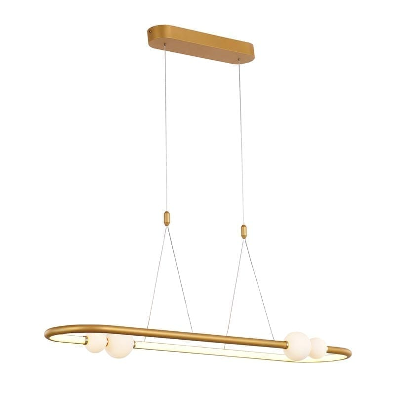 Pakabinamas LED šviestuvas Lozanna 1C Gold