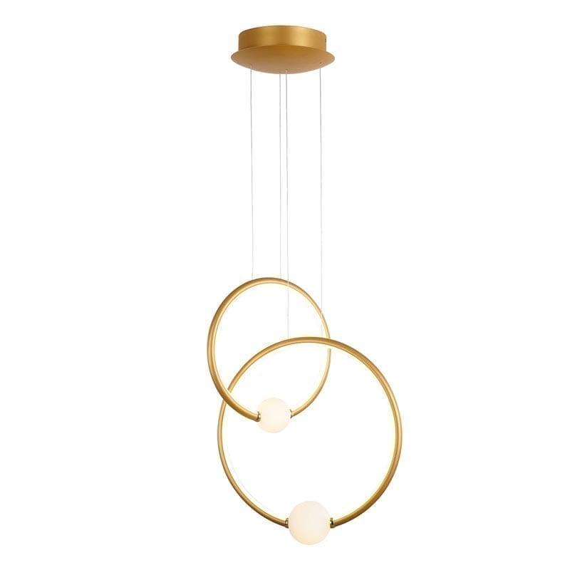 Pakabinamas LED šviestuvas Lozanna 2B Gold