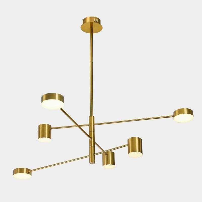 Pakabinamas LED šviestuvas Remdal Brass 6