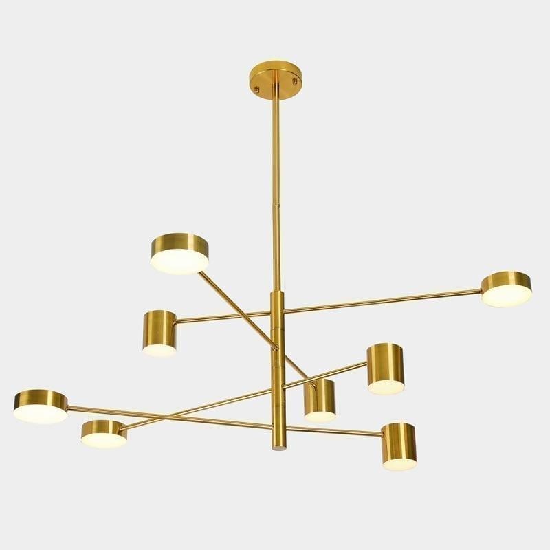 Pakabinamas LED šviestuvas Remdal Brass 8
