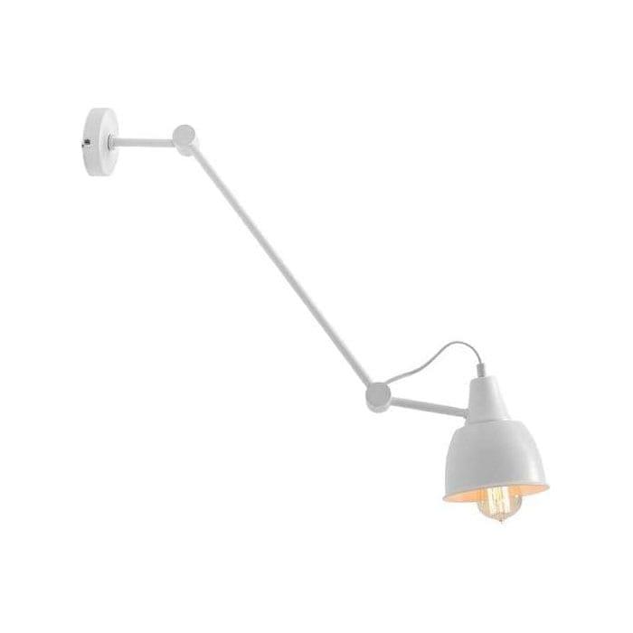 Sieninis šviestuvas Aida White 814PL/G