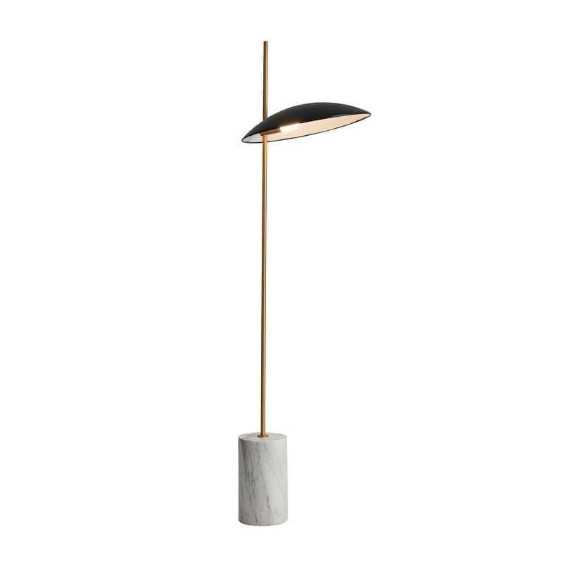Pastatomas LED šviestuvas Vilai Black Gold