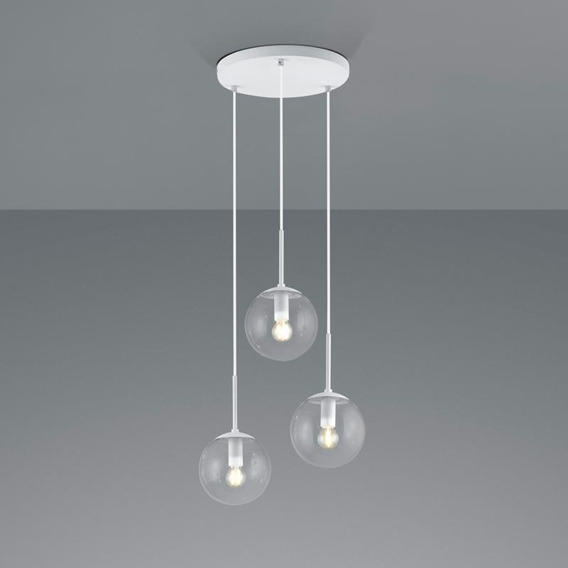 Pakabinamas šviestuvas Balini White 3