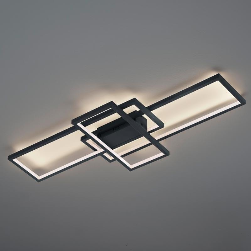 Lubinis LED šviestuvas Thiago Anthracite