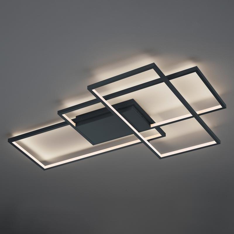 Lubinis LED šviestuvas Thiago Anthracite V2