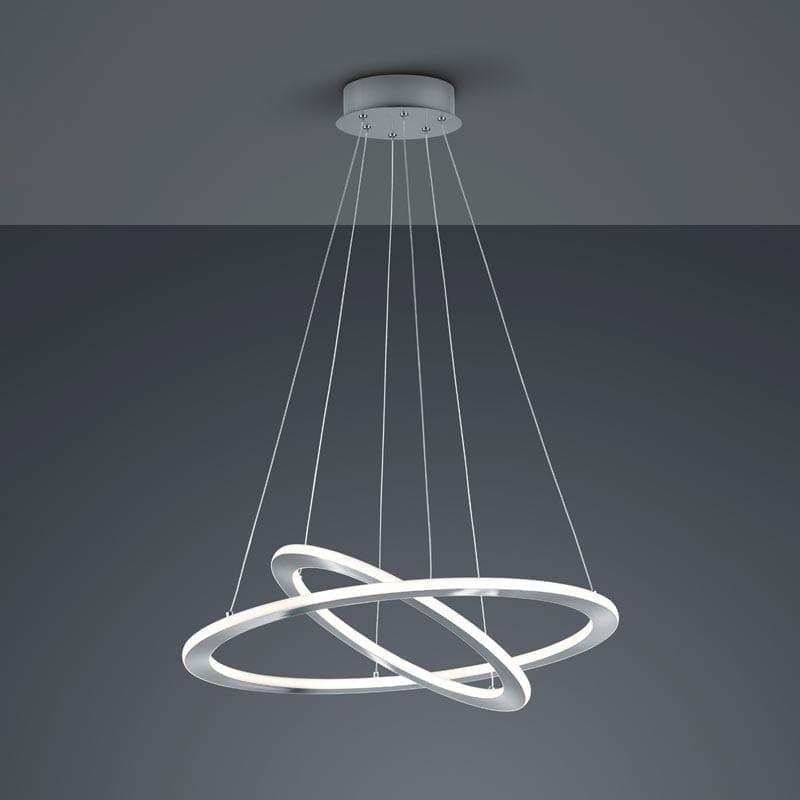 Pakabinamas LED šviestuvas Durban Nickel