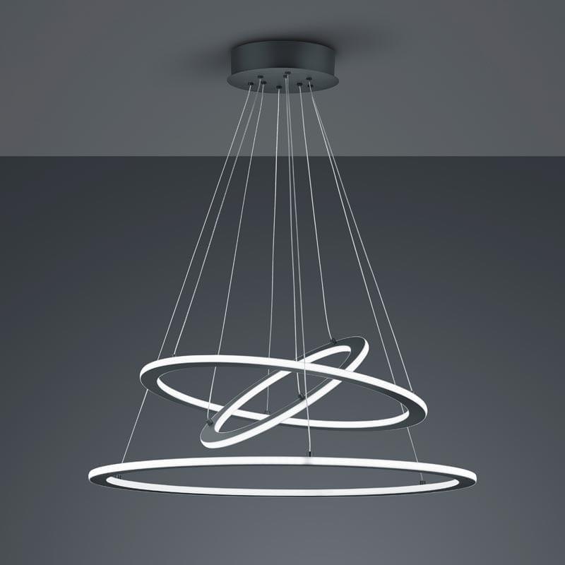 Pakabinamas LED šviestuvas Durban Anthracite V2