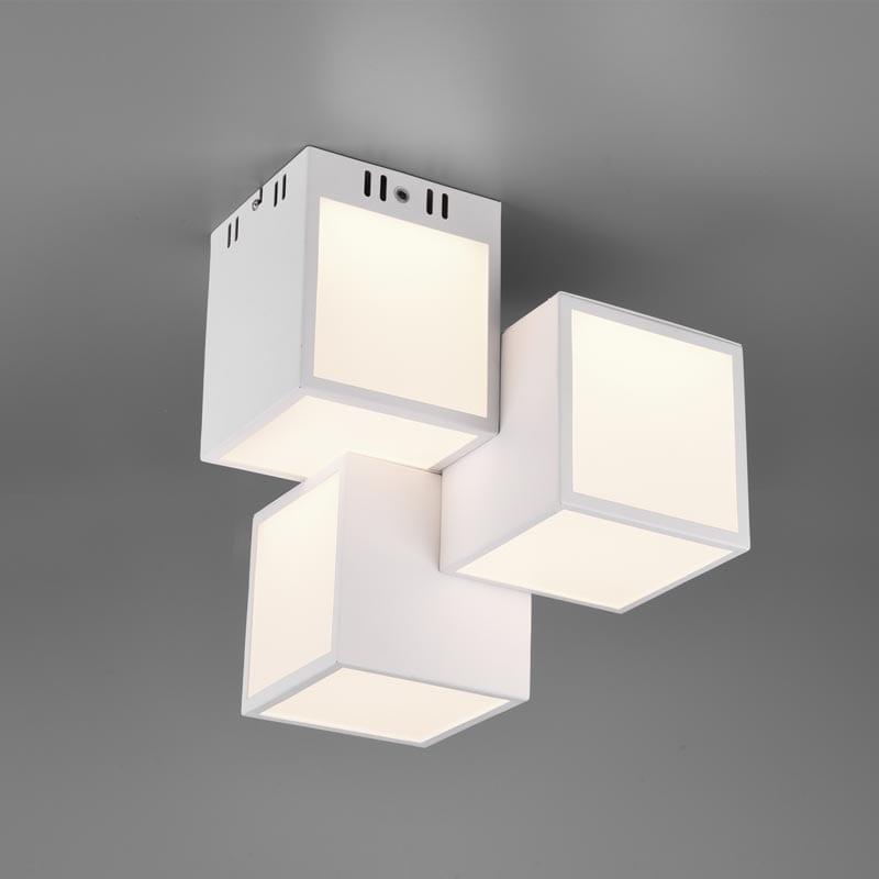 Lubinis LED šviestuvas Oscar White