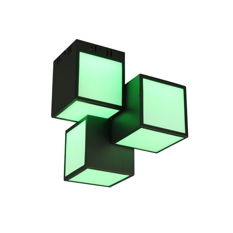 Lubinis LED šviestuvas Oscar Black