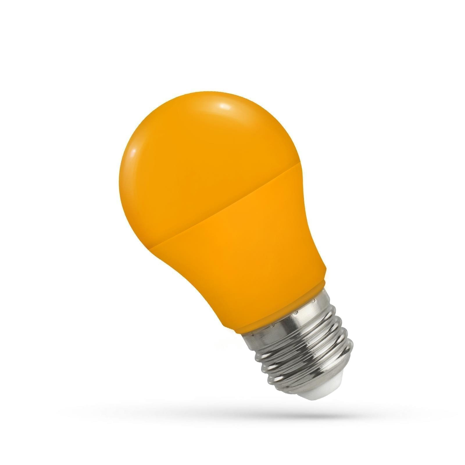 5W E27 LED lemputė GLS oranžinė