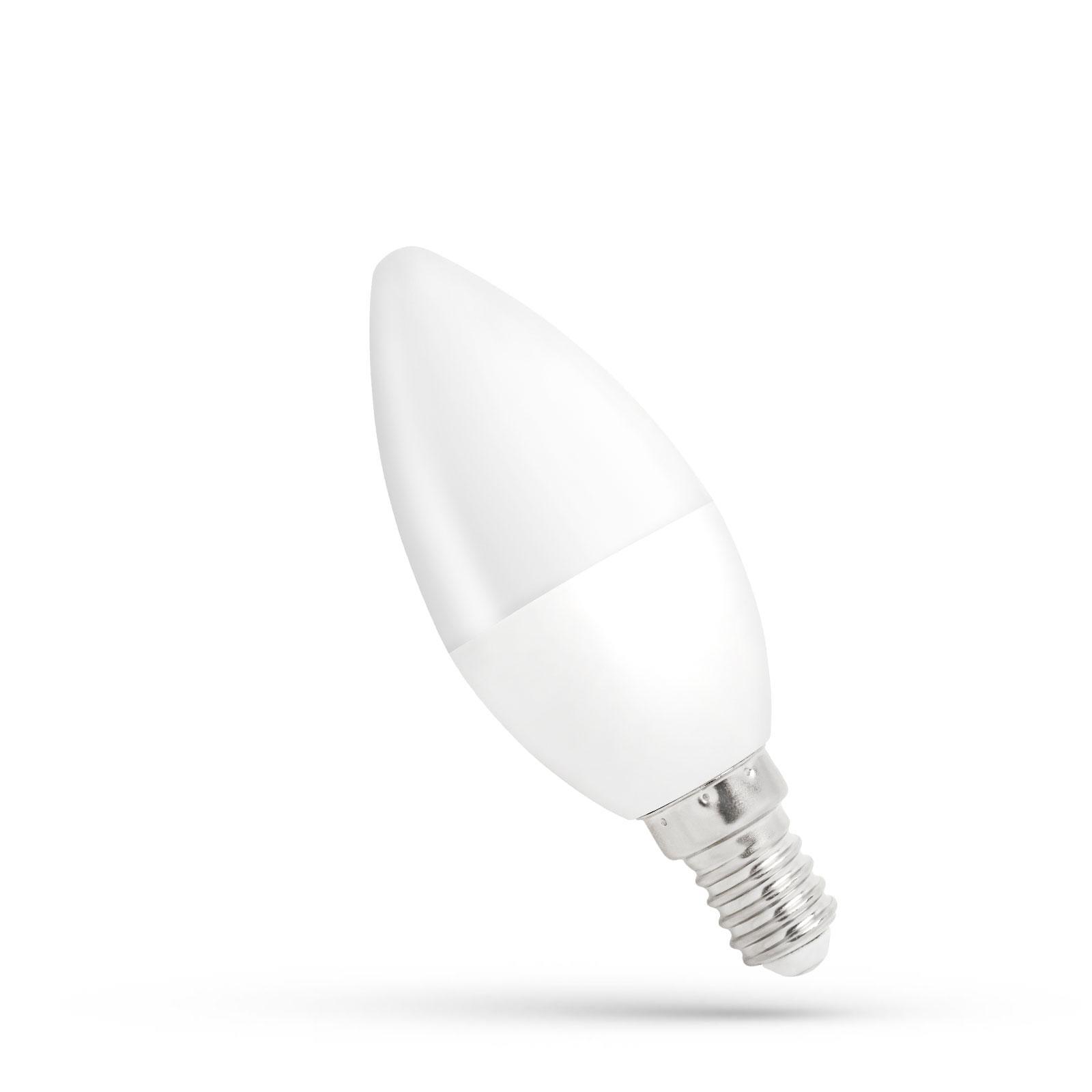 1W E27 LED 4000K lemputė Žvakutė