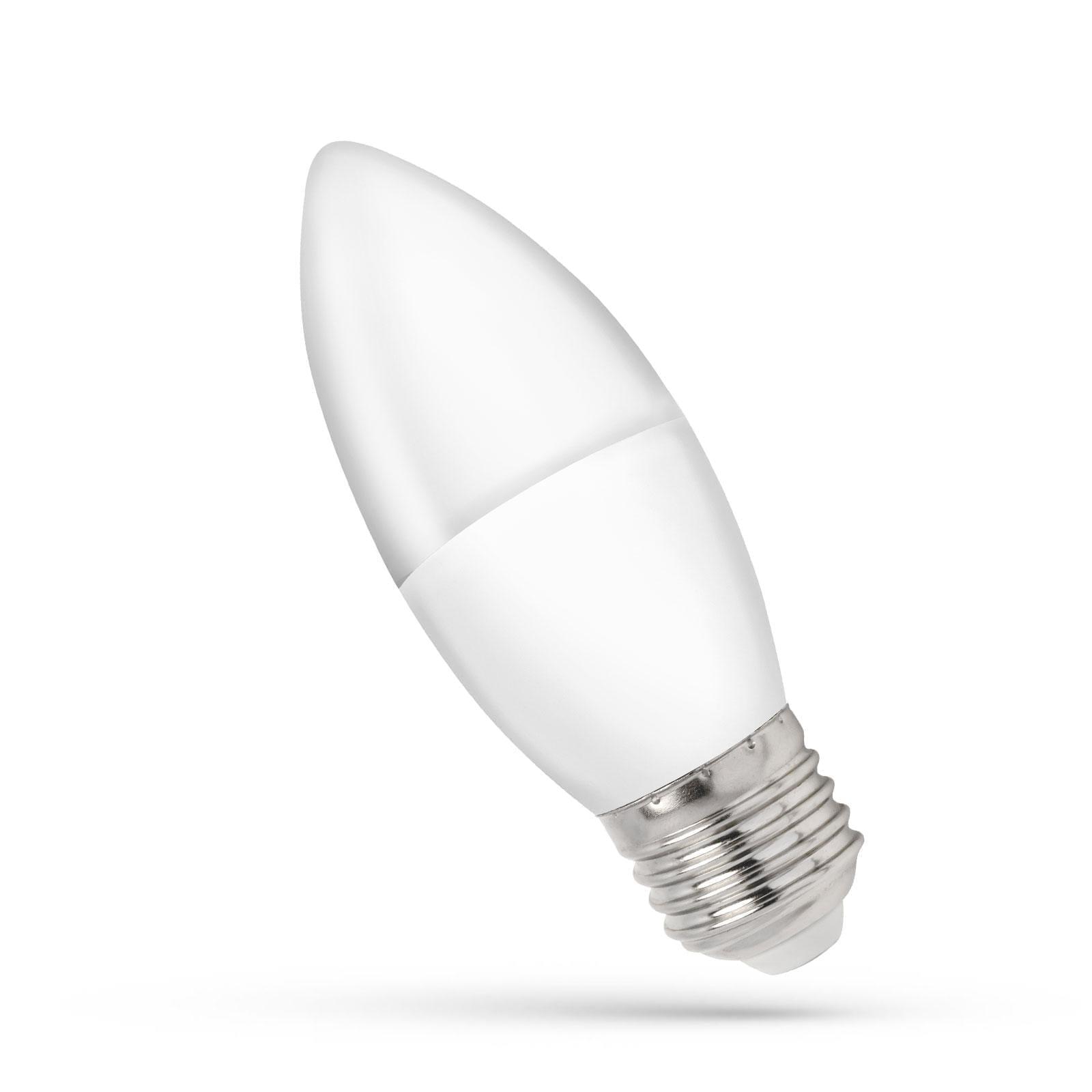 1W E27 LED 3000K lemputė Žvakutė