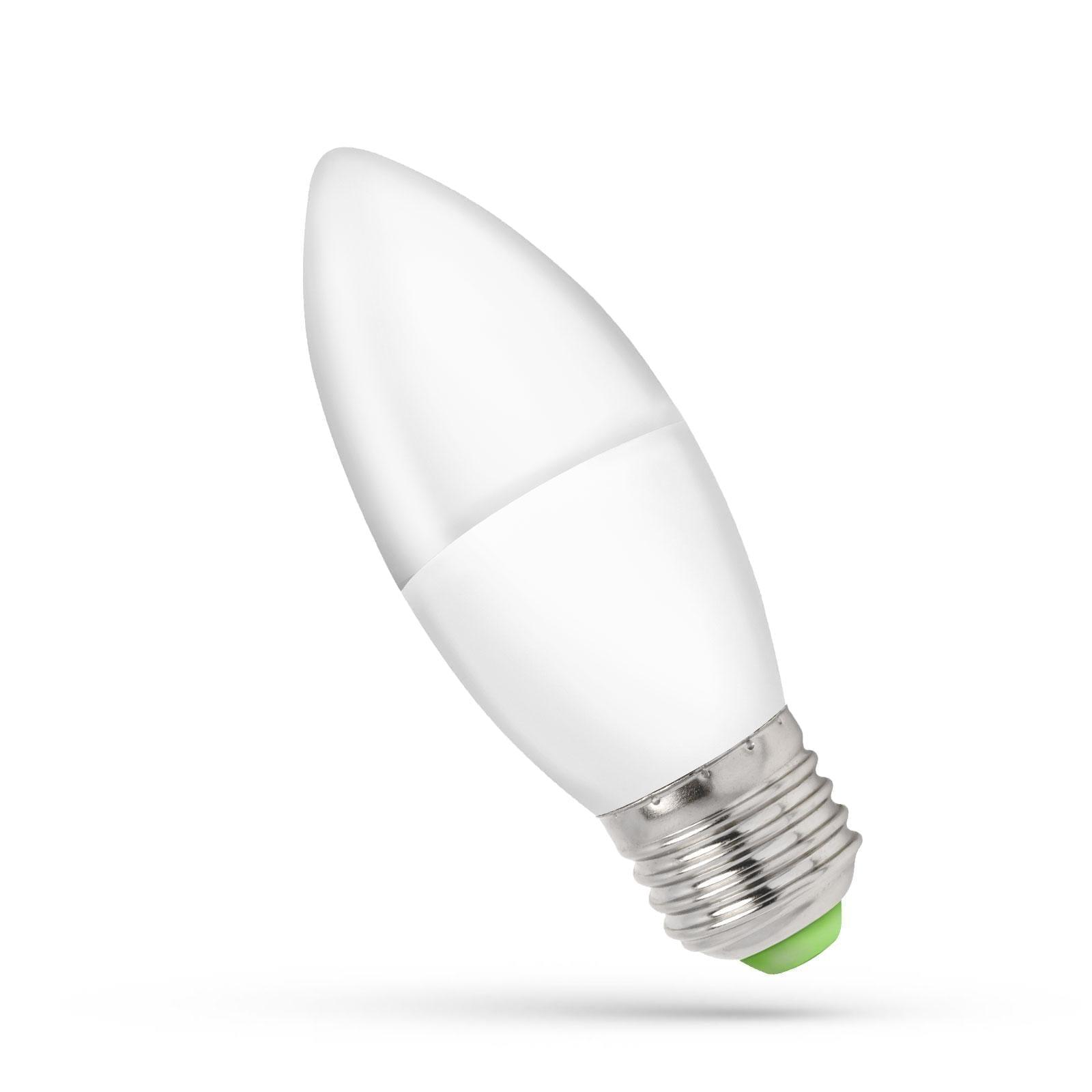 6W E27 6000K Led lemputė žvakutė