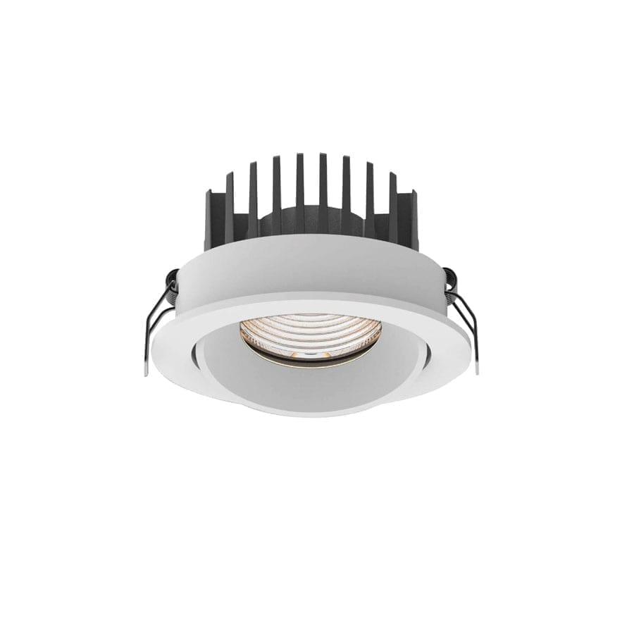 Įmontuojamas kryptinis LED šviestuvas Cyklop WH