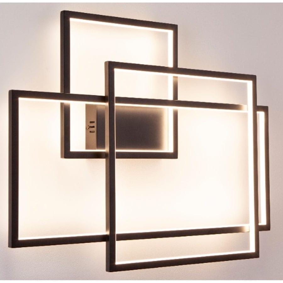 Sieninis LED šviestuvas Geometric W0233