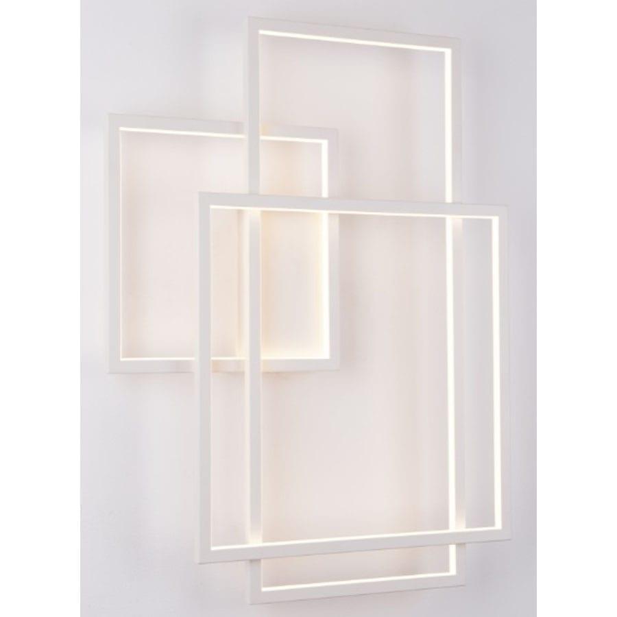 Sieninis LED šviestuvas Geometric W0234D