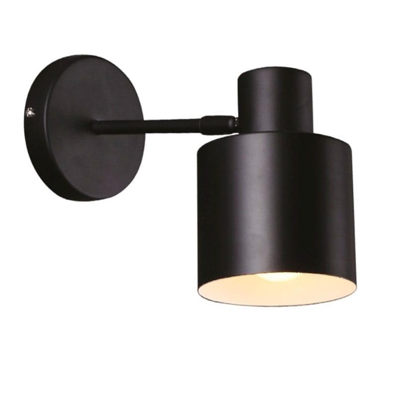 Sieninis šviestuvas Black