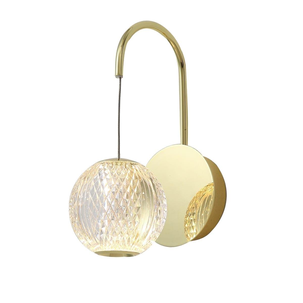 Sieninis LED šviestuvas Rosario GD