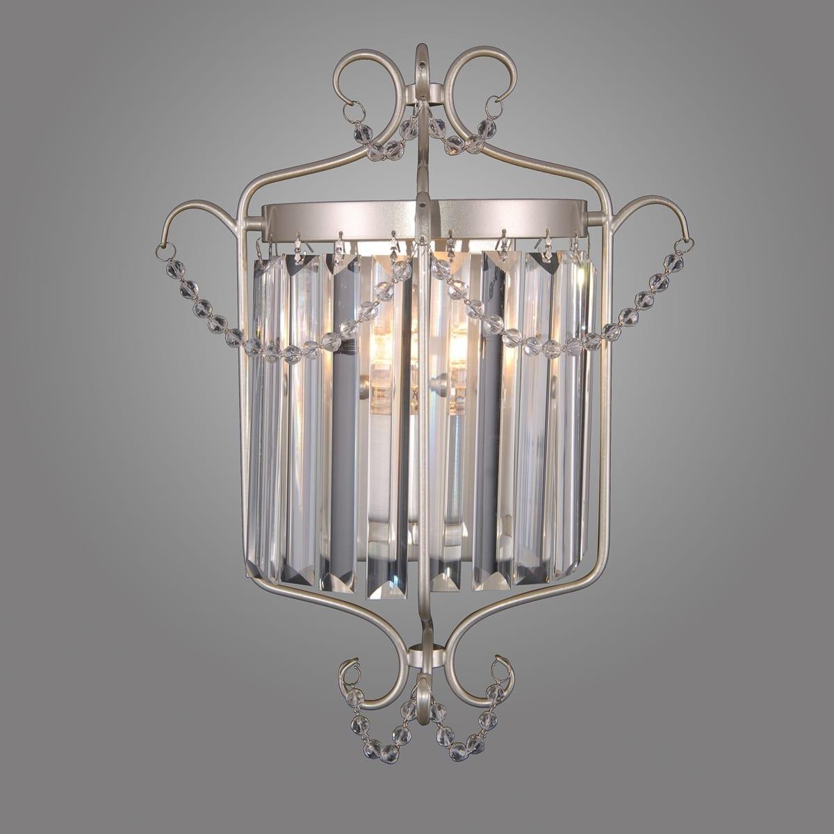 Sieninis šviestuvas Rinaldo Silver