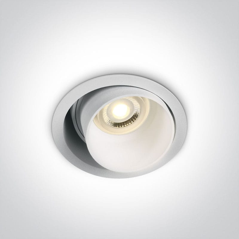 Įmontuojamas kryptinis šviestuvas 11105D8/W