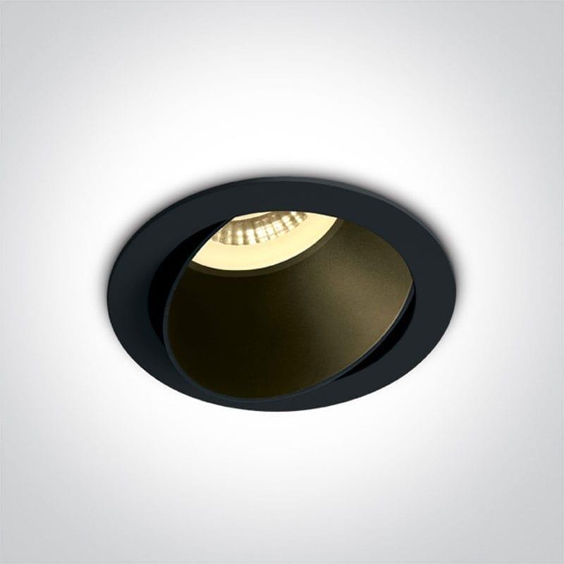 Įmontuojamas kryptinis šviestuvas 11105M/B/B