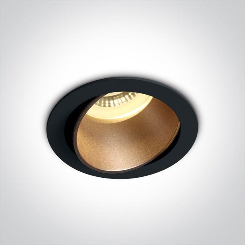 Įmontuojamas kryptinis šviestuvas 11105M/B/BS