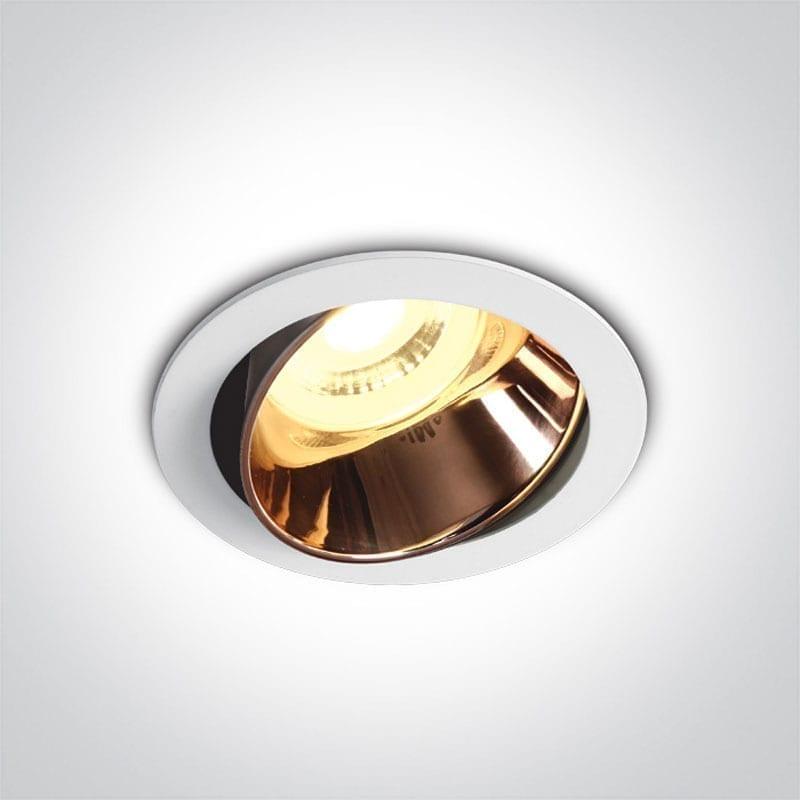 Įmontuojamas kryptinis šviestuvas 11105M/W/CU