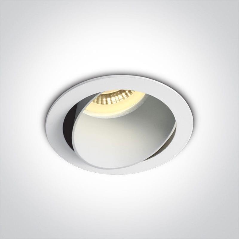 Įmontuojamas kryptinis šviestuvas 11105M/W/W