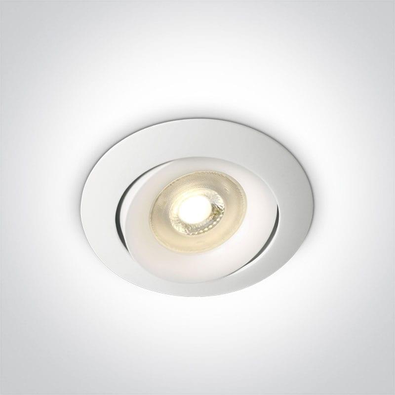 Įmontuojamas kryptinis šviestuvas 11105U/W