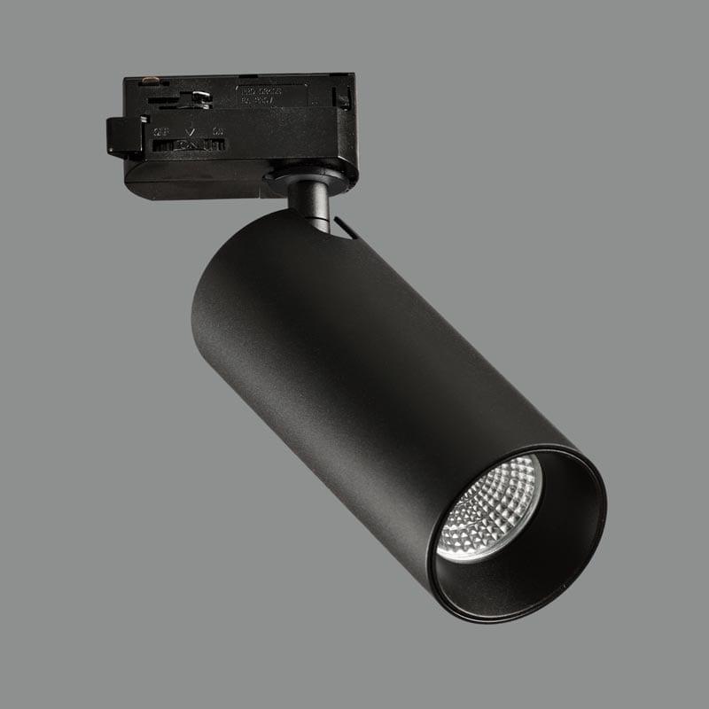 Track sistemos šviestuvas Budelli Juodas