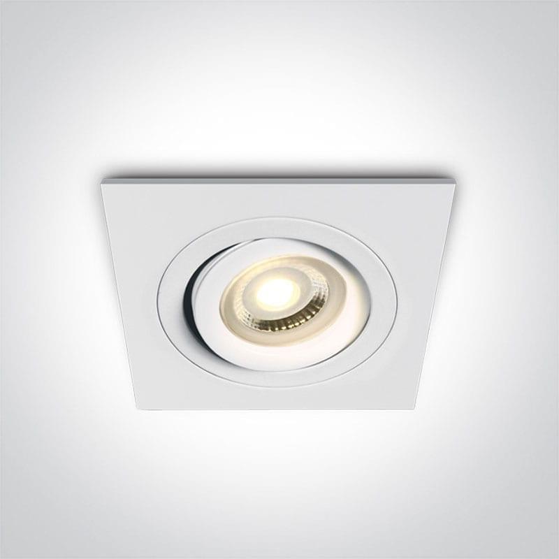 Įmontuojamas kryptinis šviestuvas 51105ABG/W