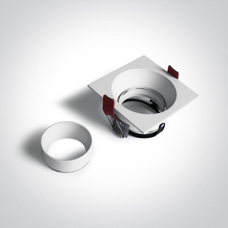 Įmontuojamas kryptinis šviestuvas 51105D5/W
