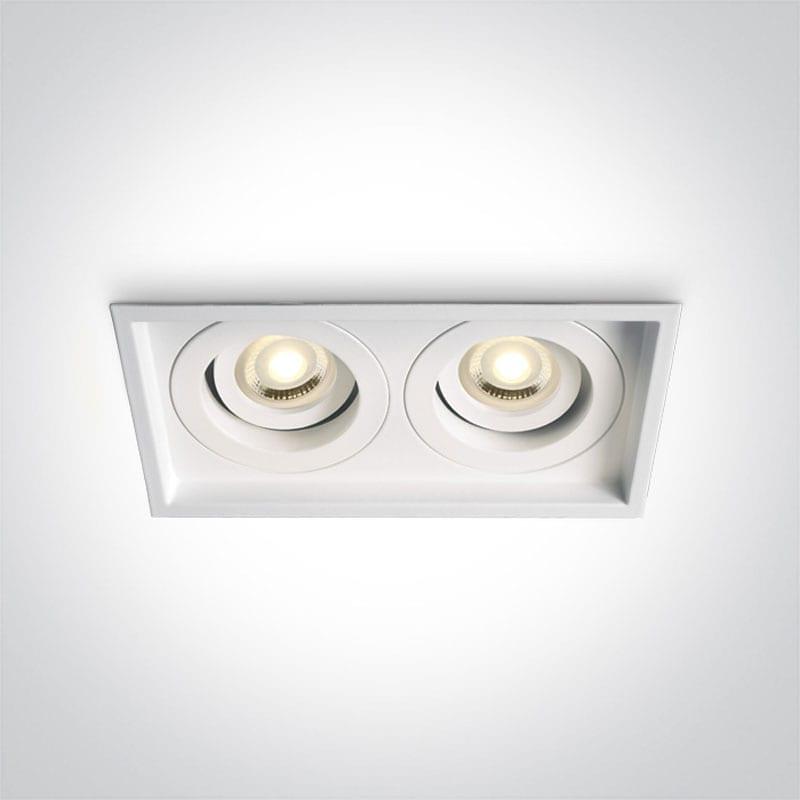 Įmontuojamas kryptinis šviestuvas 51205N/W