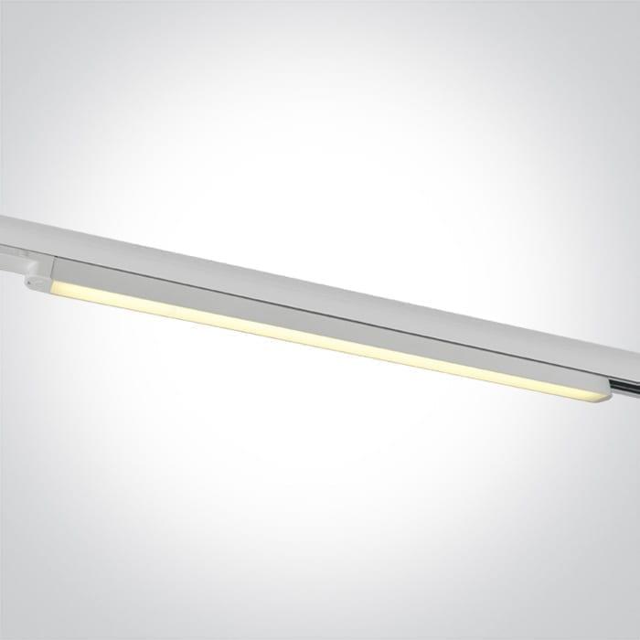 Track sistemos šviestuvas Linear 65025T/W/W 3000K