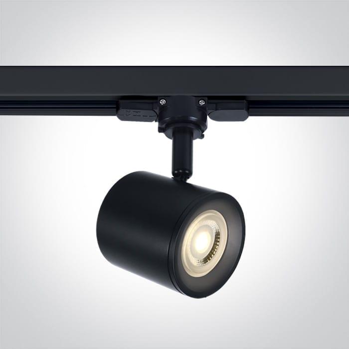 Track sistemos šviestuvas 65520T/B Juodas