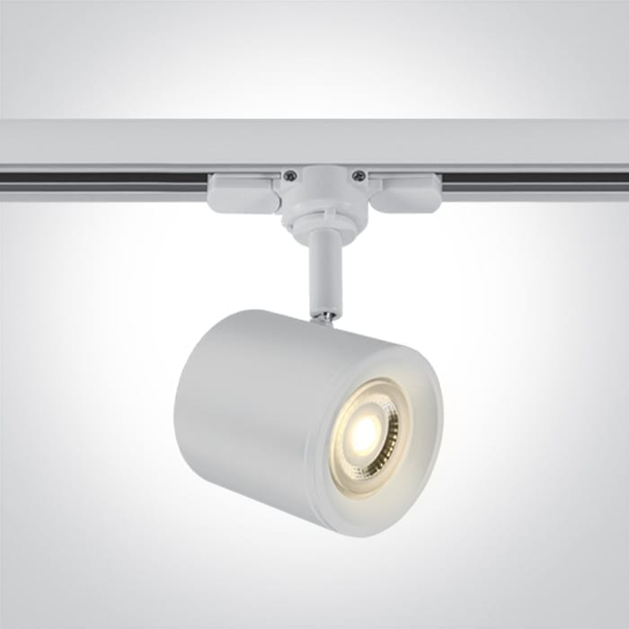 Track sistemos šviestuvas 65520T/W Baltas