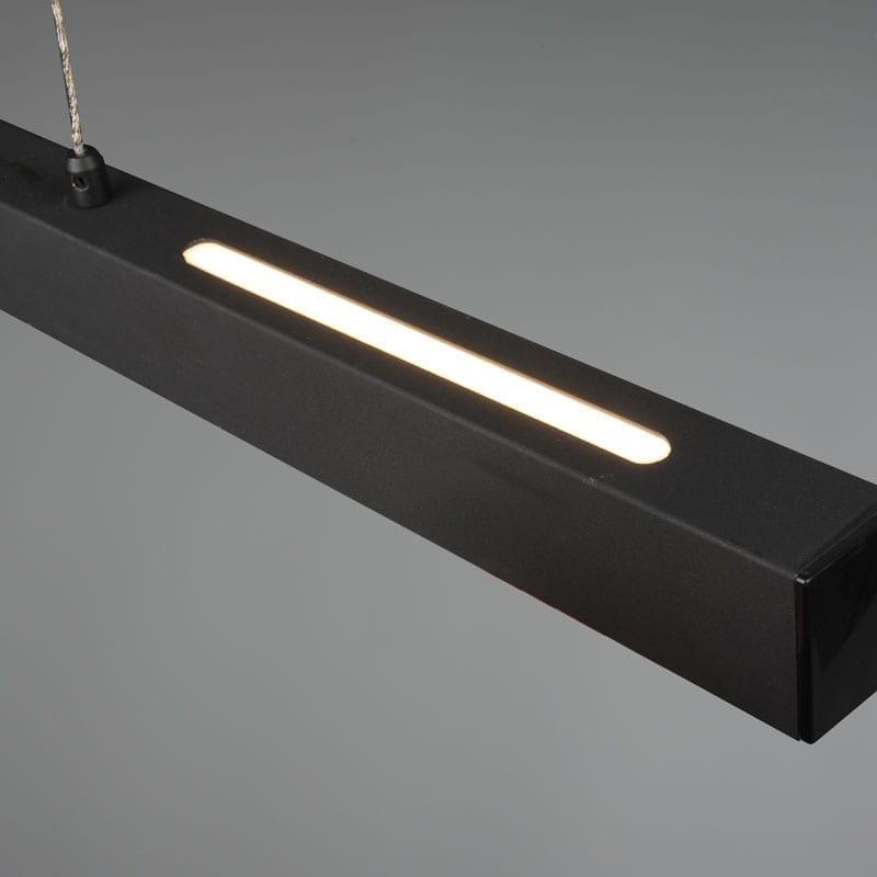 Pakabinamas LED šviestuvas Paros Dimm juodas