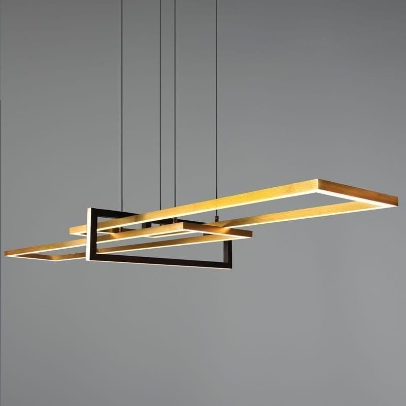 Pakabinamas LED šviestuvas Salinas žalvario