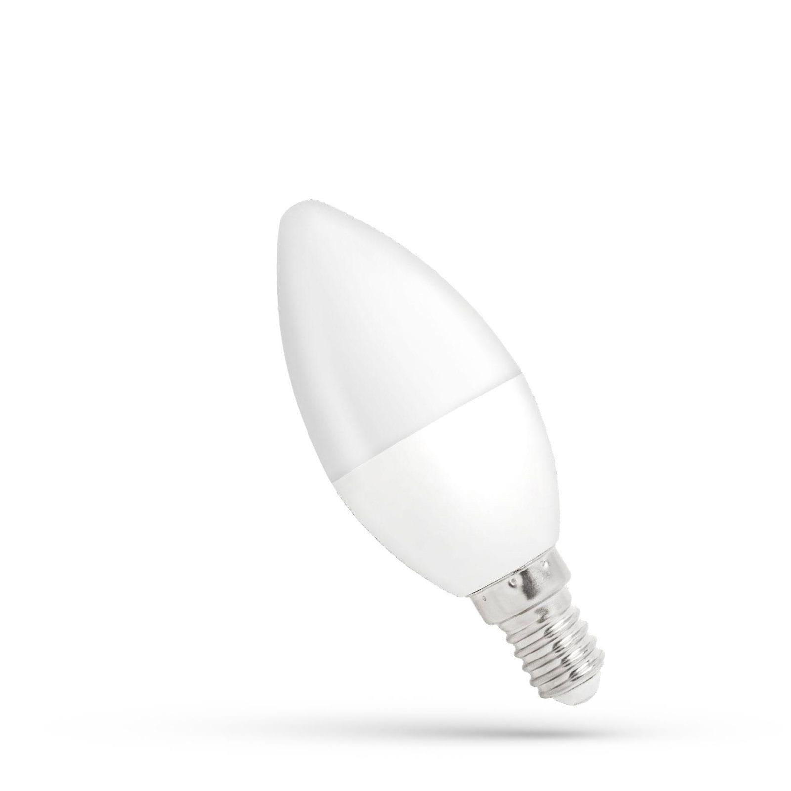 6W E14 LED lemputė žvakutė dimeriuojama