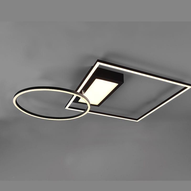 Lubinis LED šviestuvas Downey Dimm juodas
